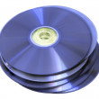 Optical discs — Stock Photo