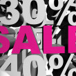 Stock Photo: Sale magenta