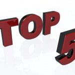 Top 5 — Stock Photo #1746556