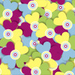 Multicolored flowers — Stock Photo