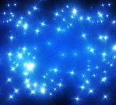 Třpytící hvězdy — Stock fotografie
