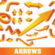 Stock Vector: Arrows