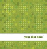 Green tiles background — Stock Vector