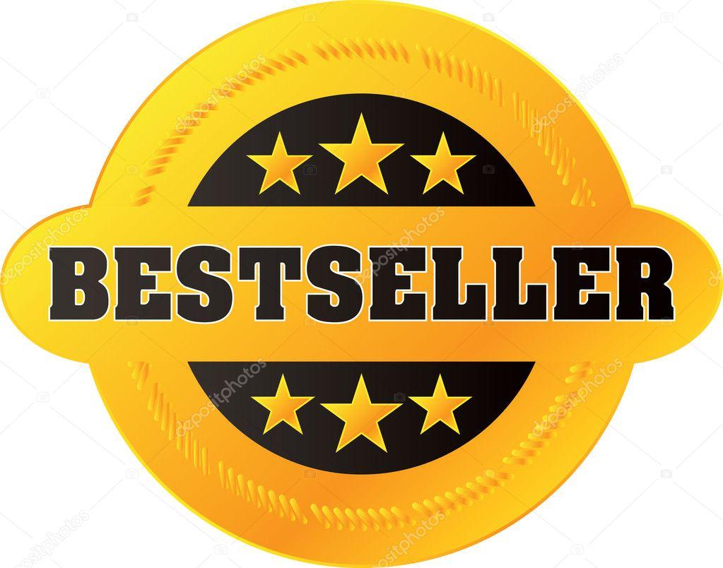 Vector Bestseller label — Stock Vector © jakegfx #1809595