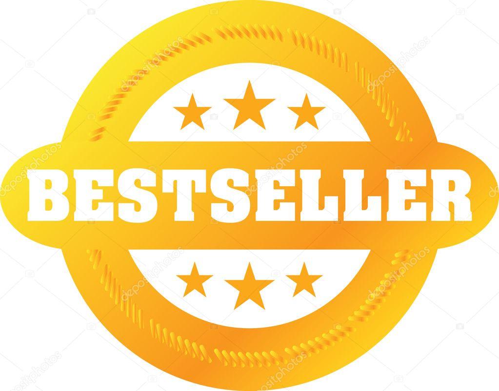 Vector Bestseller label — Stock Vector © jakegfx #1809596