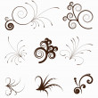 Royalty-Free Stock Vector Image: Vintage swirly elements