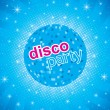 Stock Vector: Disco party flayer