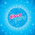 Disco party flayer — Stock Vector
