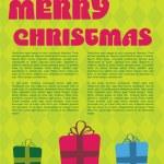 Christmas design. — Stock Vector