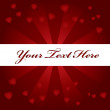 Valentines day background — Vector de stock #1827301