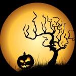Halloween illustration — Stock Vector