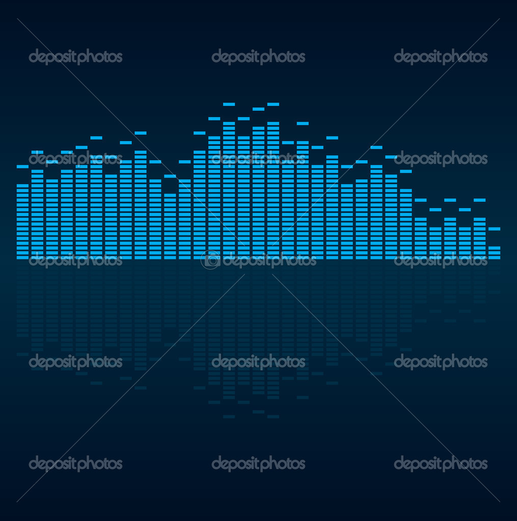 Vector illustration of digital equalizer    Stock Vector #1826069