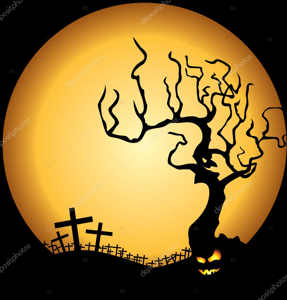 Halloween illustration for your artwork — Stock Vector #1828307
