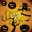 Royalty-Free Stock Vector Image: Halloween collection