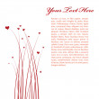 Valentine's day card — Stock Vector #1858421