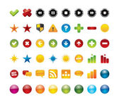 48 web icons. — Stock Vector