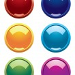 Colorful orbs for your site — Vettoriali Stock
