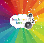 Music. Vector elements for design — Stock Vector