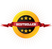 "Badge ""Bestseller"" — Stock Vector"