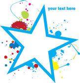 Star design. — Cтоковый вектор