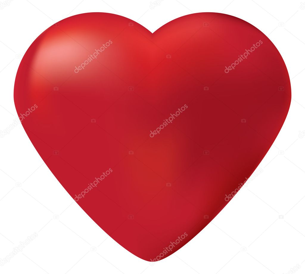 Vector editable heart   — Stock Vector #1863229