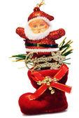 Toy Santa Claus — Stock Photo