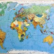 Political map of world — Lizenzfreies Foto