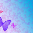 Background with butterfly as frame — Stock Photo #1502143