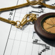 Stock Photo: Finances analyze and watch