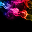 Stock Photo: Color smoke as abstract background