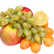 Colorful fresh group of fruits — Stock Photo #1506746