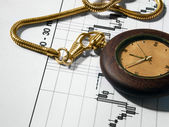 Finances analyze and watch — Stock Photo
