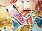 Euros - Cash credit money concept. — Stock Photo