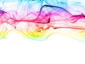 Dym jako tło kolor — Zdjęcie stockowe