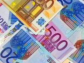 Euros - Cash credit money concept. — Stock Photo