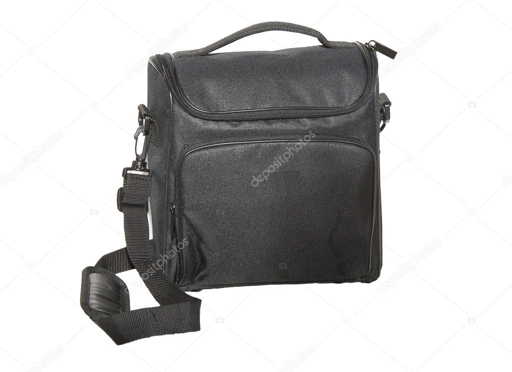 Black bag isolated — Stock Photo #1500717