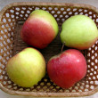 Four Apples — Stock Photo
