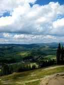 Panorama From Mountain Top — Stock Photo