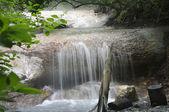 Hot waterfall — Stock Photo