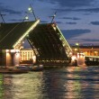 Stock Photo: Drawbridge of Sankt-Peterburg