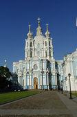 Smolny Cathedral — Stock Photo