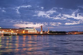 """Strelka"" Vasilievsky Island — Stock Photo"
