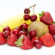 Delicious fresh fruits — Stock Photo