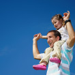 Father and daughter — Stock Photo #1502412