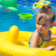 Stock Photo: Child in pool