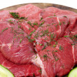 Fresh red meat — Stock Photo #2637411