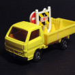 Yellow Toy Road Construction Truck — Stock Photo