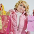 Stock Photo: Holiday shopping