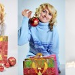 Christmas joy - Stock Photo