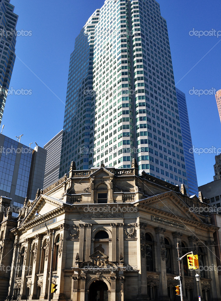 The view of Toronto hockey hall of fame — Stock Photo #2666783